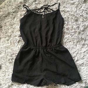 Open back jumpsuit size Small